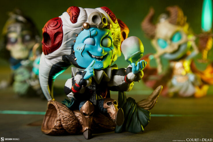 Centering in on Malaestros in the Court-Toons Collectible Statue Set