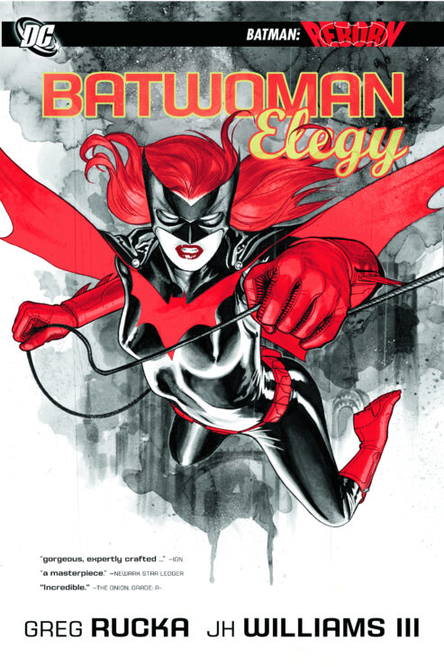 Batwoman on the cover of Batwoman: Elegy