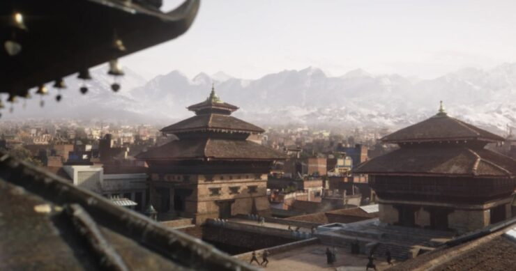 Kamar-Taj, home of The Ancient One and training ground of Doctor Strange