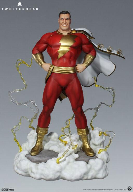 Super Powers Shazam Maquette by Tweeterhead