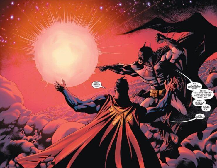 Superman Red Sun Weakness