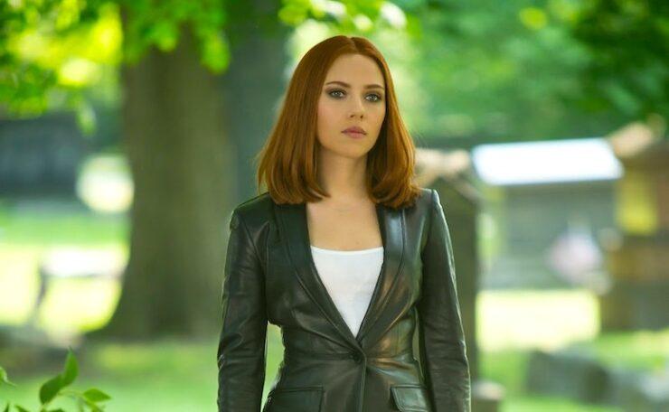 Scarlett Johansson as Natasha Romanoff / Black Widow in Marvel's Captain America The Winter Soldier