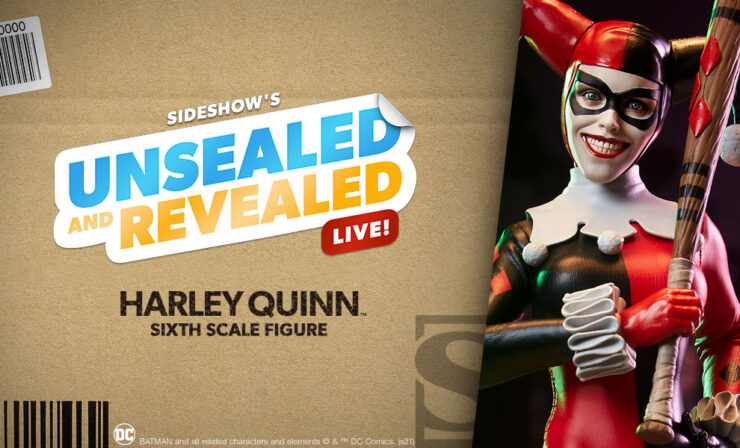 Up Next on Unsealed and Revealed: Harley Quinn Sixth Scale Figure by Sideshow