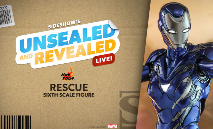 Up Next on Unsealed and Revealed: Rescue Sixth Scale Figure by Hot Toys