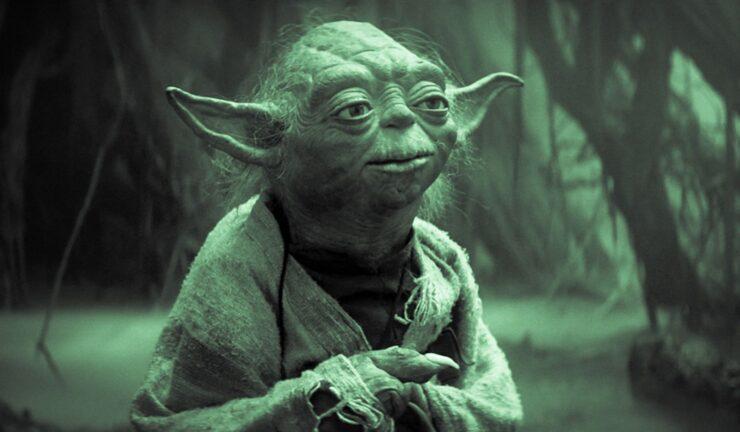 Yoda on Degobah