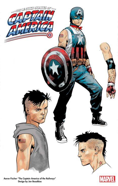 Aaron Fischer as Marvel's Captain America