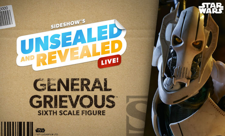 Up Next on Unsealed and Revealed: General Grievous Sixth Scale Figure by Sideshow
