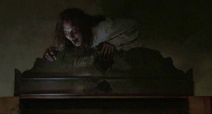 Bathsheba Sherman on a Cabinet- The Conjuring Series