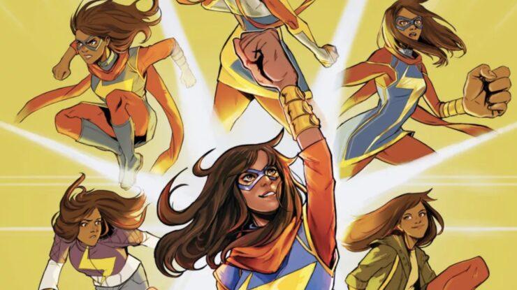 Kamala Khan: Beyond the Limit Promotional Art