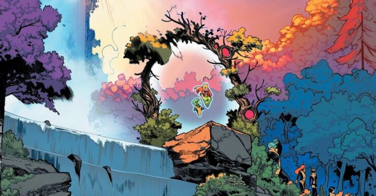 Krakoa, the living island that has become the recent home of many mutants