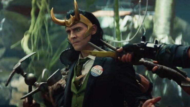 Tom Hiddleston as Loki from Disney+ Series