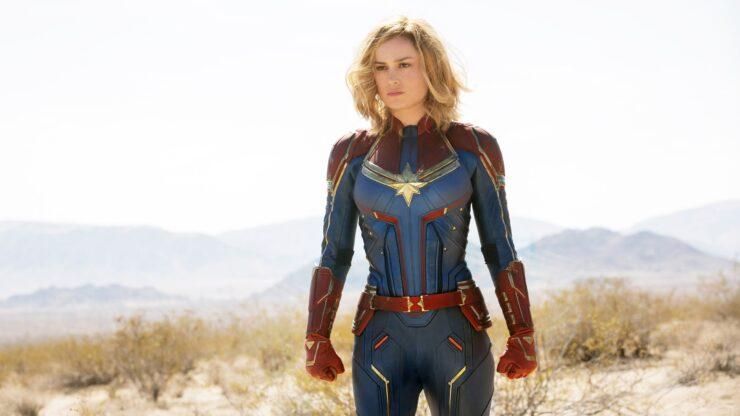 Brie Larson as Carol Danvers/Captain Marvel in Marvel Studios Captain Marvel