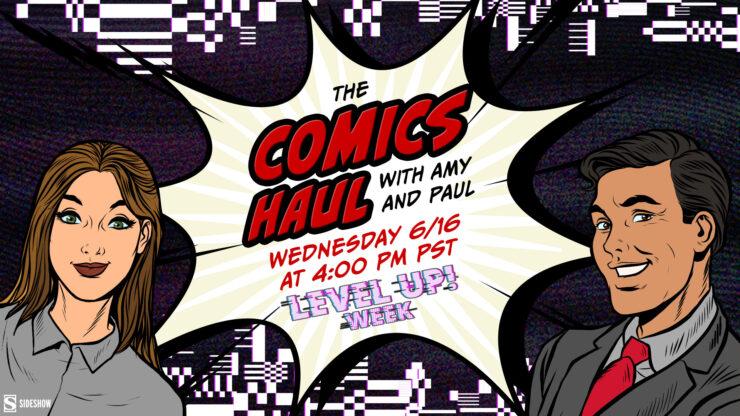 The Comics Haul- Level Up! Week Promotional Image