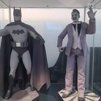 Batman Noir and The Joker Noir Sixth Scale Figures