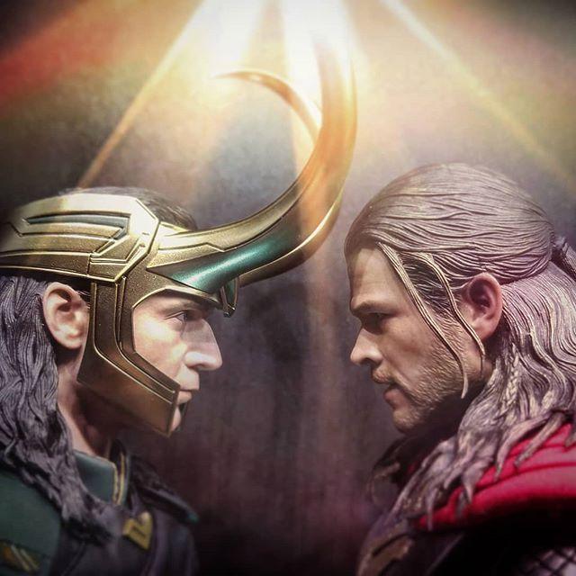 Loki Figures Collection Display