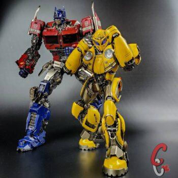 Bumblebee and Optimus Prime