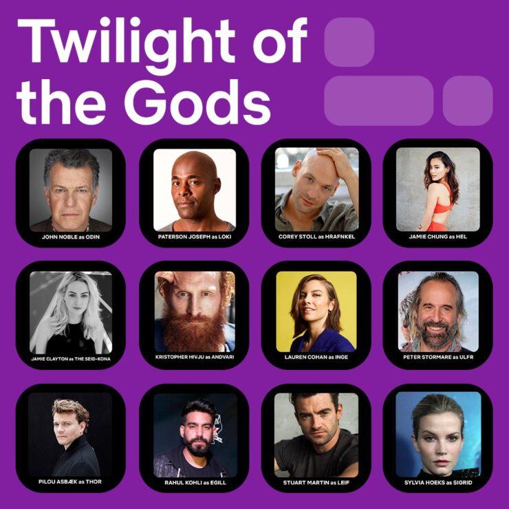 Twilight of the Gods Netflix Casting Announcement
