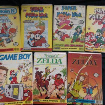 Rare Nintendo Comics- Mario, Zelda, Game Boy, Captain N