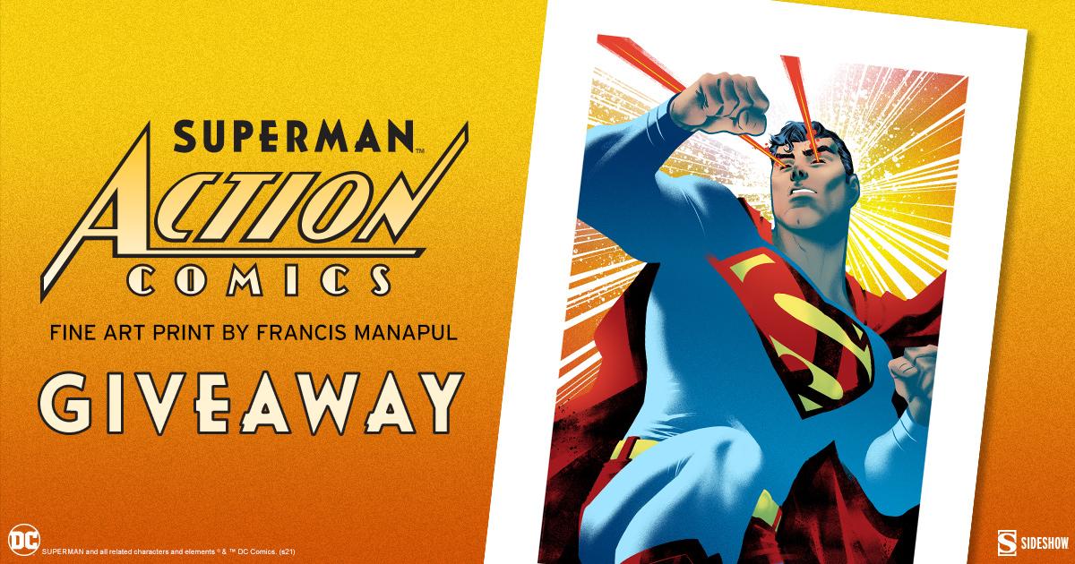 Superman: Action Comics Fine Art Print Giveaway