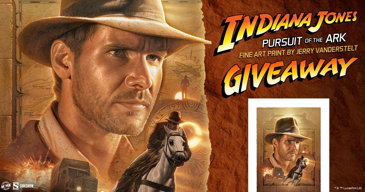 Indiana Jones: Pursuit of the Ark Fine Art Print Giveaway