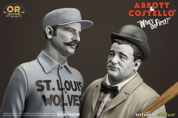 Abbott and Costello Who's On First Statue