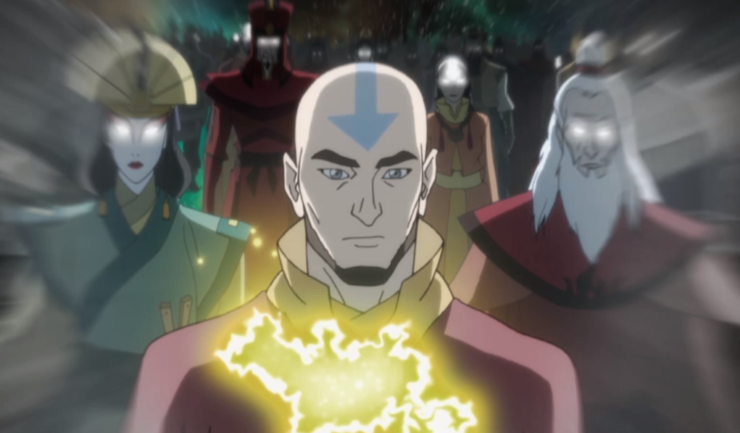 Avatar Korra loses connection to Aang
