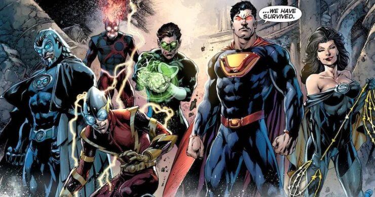 DC's Crime Syndicate, a group of evil Justice League doppelgängers