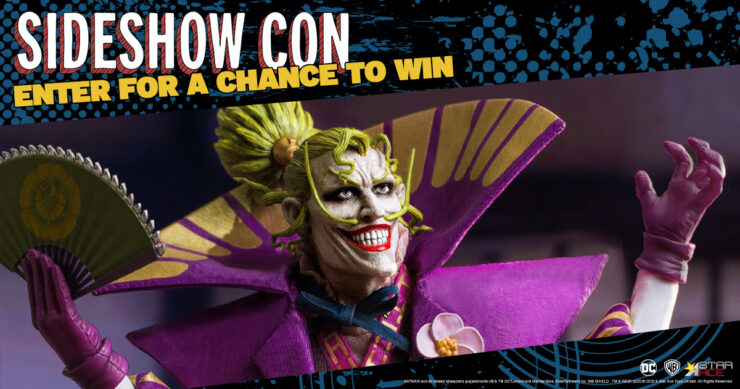 GIVEAWAY - The Lord Joker Sixth Scale Figure Star Ace Toys