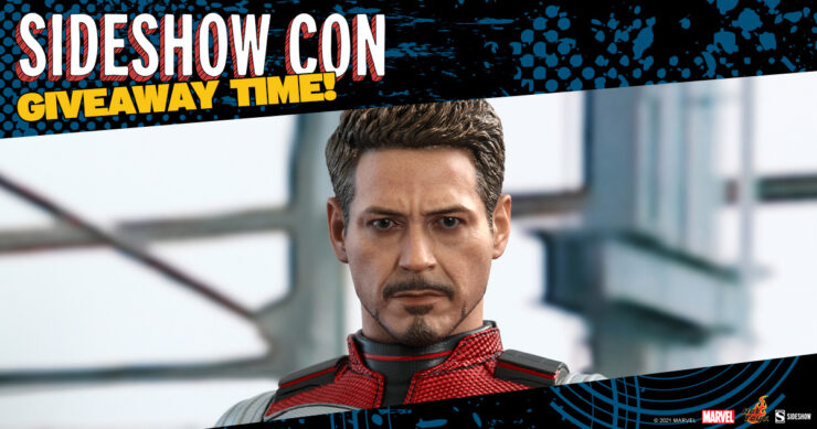 Sideshow Con GIVEAWAY - Marvel Avengers Endgame Tony Stark Sixth Scale by Hot Toys