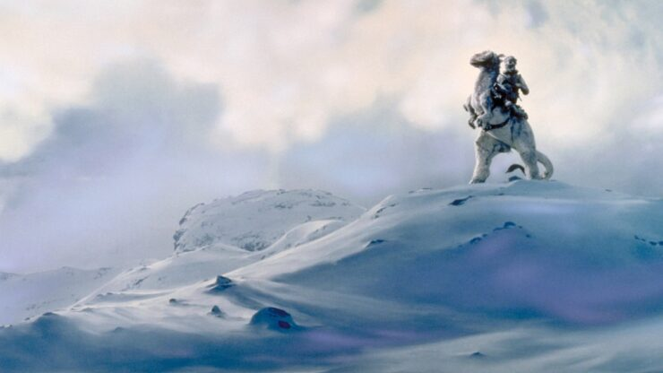 Hoth is an ice planet with surprisingly diverse local fauna
