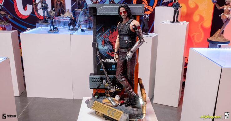 Johnny-Silverhand-Cyberpunk-2077-PureArts-Sideshow-Sideshowcon-1