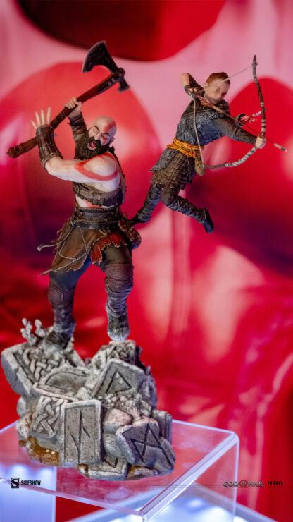 Kratos-Artreus-God-of-War-Iron-Studios-Sideshow-Sideshowcon-1