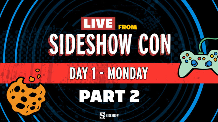 Live from Sideshow Con Day 1 - Monday Part 2 - Art Gallery Tour