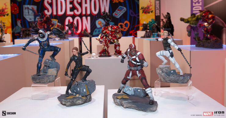 MARVEL Black Widow Iron Studios collection