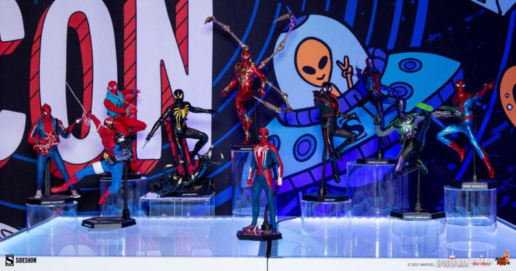 Miles-Morales-Iron-Man-Marvel-Hot-Toys-Sideshow-Sideshowcon-1