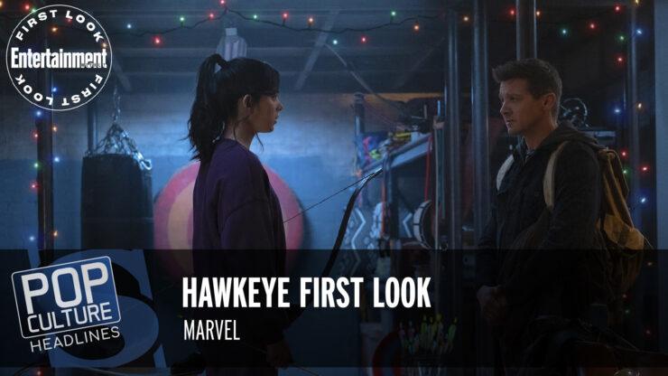 Pop Culture Headlines – Hawkeye First Look