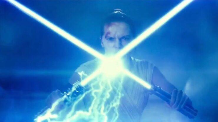 Daisy Ridley as Rey in Disney Lucasfilm Star Wars The Rise of Skywalker