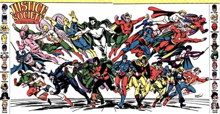 Before the Justice League, there was the Justice Society of America