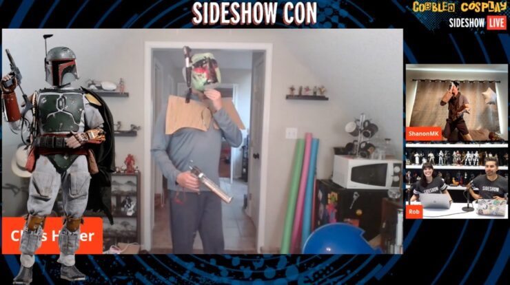 Sideshow Con Cobbled Cosplay Chris H. Boba Fett