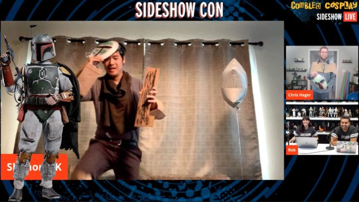 Sideshow Con Cobbled Cosplay ShannonMK Boba Fett