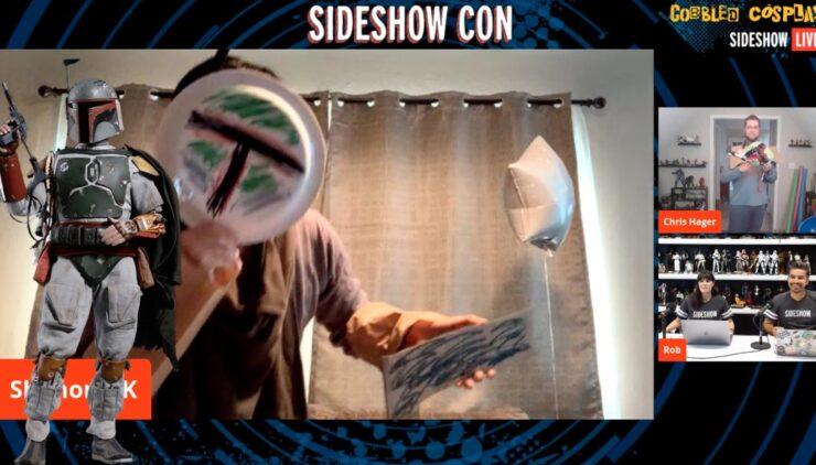 Sideshow Con Cobbled Cosplay ShanonMK Boba Fett