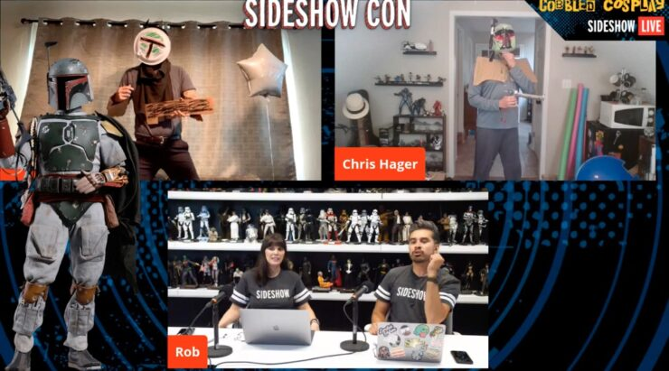 Sideshow Con Day 1 Cobbled Cosplay Boba Fett