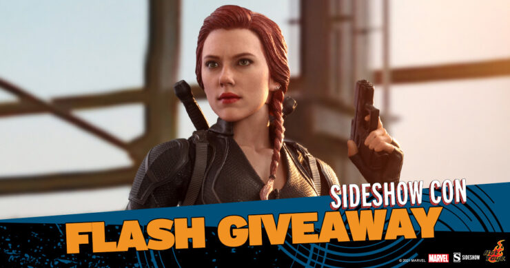 Sideshow Con Flash Giveaway - Black Widow Sixth Scale Figure by Hot Toys
