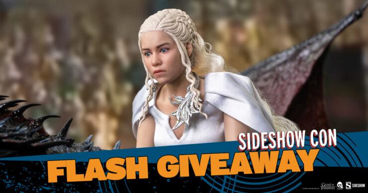 Sideshow Con Flash Giveaway Daenerys Targaryen Sixth Scale Threezero