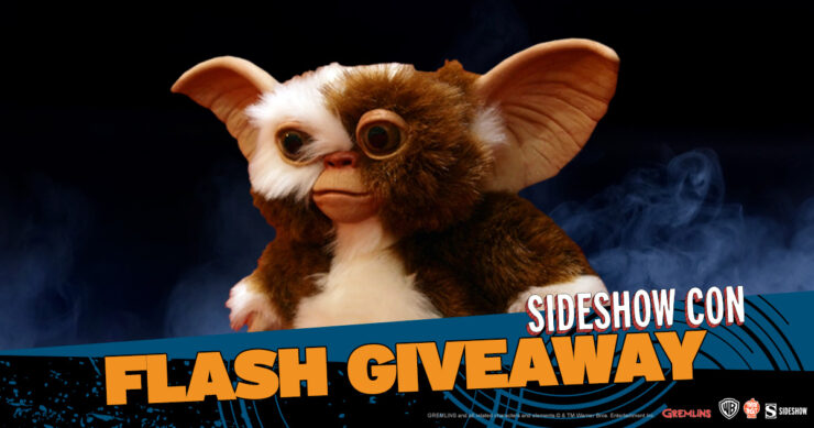 Sideshow Con Flash Giveaway Gizmo Prop Replica by Trick or Treat Studios