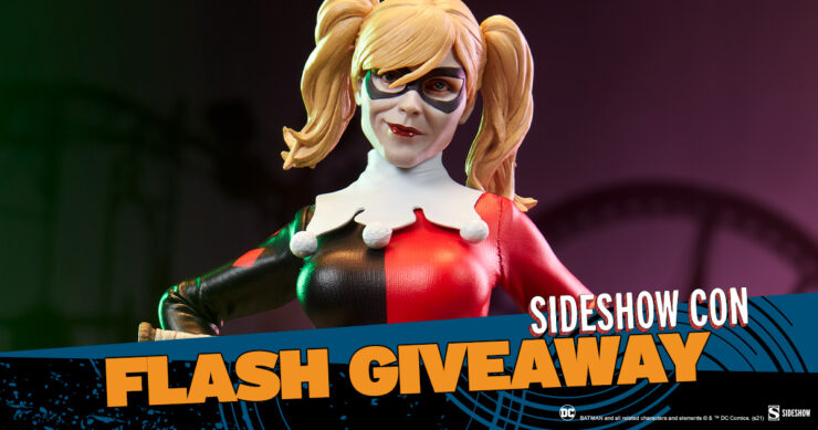 Sideshow Con Flash Giveaway Harley Quinn Sixth Scale Figure (Exclusive Edition) by Sideshow