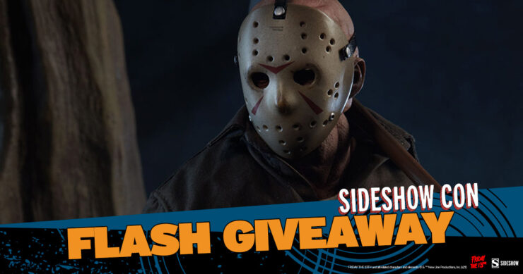 Sideshow Con Flash Giveaway Jason Voorhees Sixth Scale Figure by Sideshow