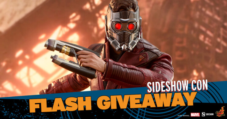 Sideshow Con Flash Giveaway - Star Lord Sixth Scale Figure by Hot Toys