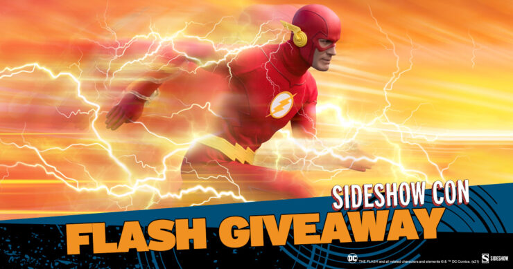 Sideshow Con Flash Giveaway The Flash Sixth Scale Figure by Sideshow