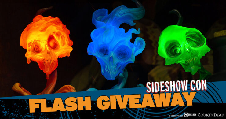 Sideshow Con Flash Giveaway The Lighter Side of Darkness: Faction Candle Set by Court of the Dead and Sideshow